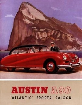 1949_Austin_A90_Atlantic