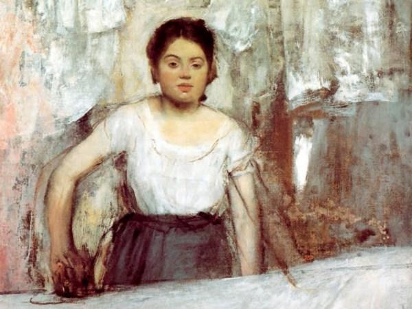 Degas, La Repasseuse, vers 1869