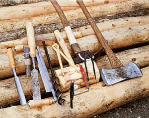 pioneer woodworking tools