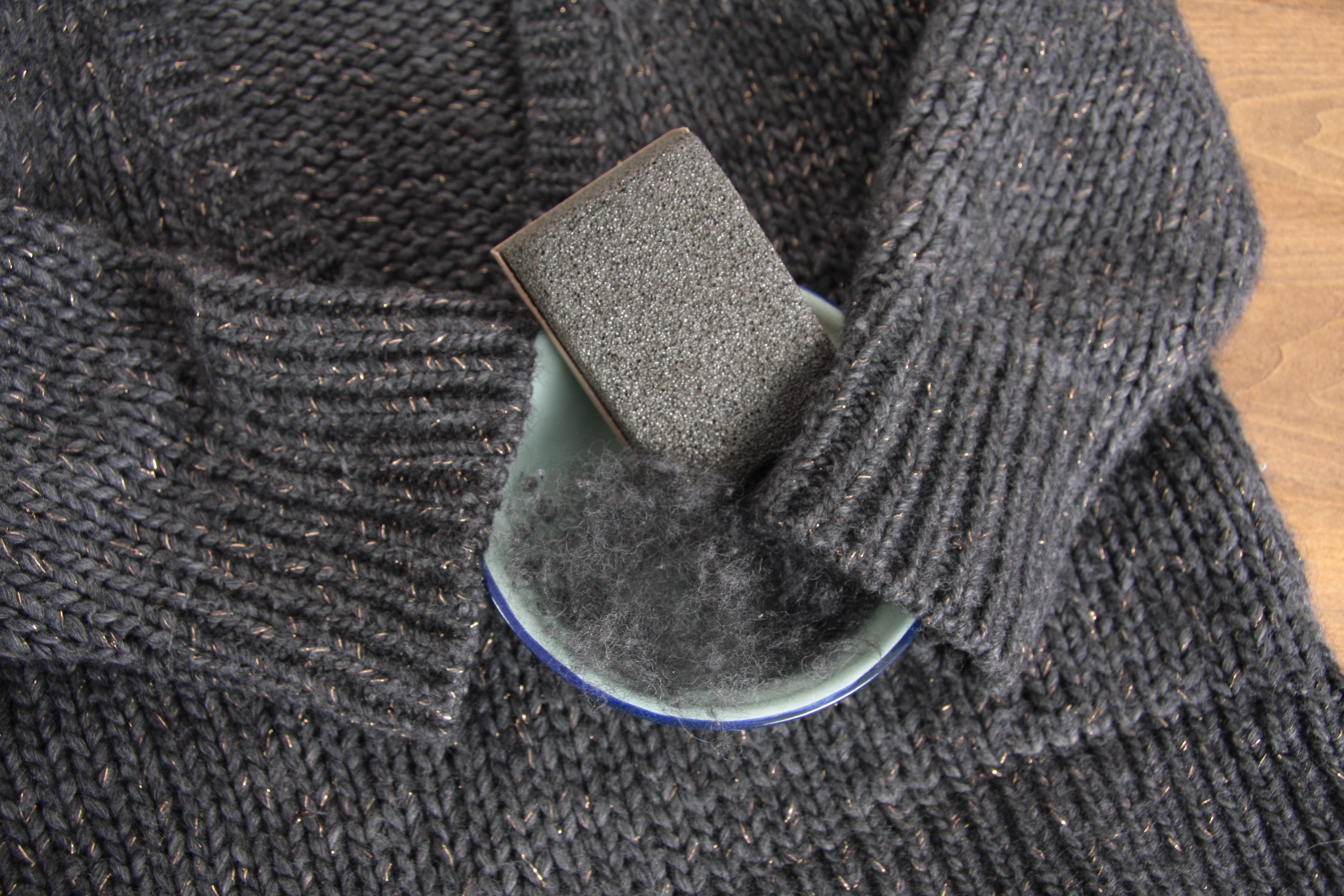 My way how to get rid of lint balls part 1 lark about - How to remove lint ...